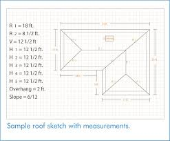instructions instruction manuals measuring a roof