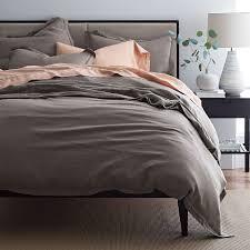 Comfort Wash Solid Linen Duvet Cover / Sham
