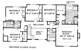 floor plan of a house with dimensions. Interesting Dimensions Second Floor Plan In Of A House With Dimensions P