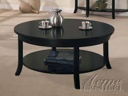 round black coffee table. Amazon.com: Round Coffee Table In Black Espresso Finish: Kitchen \u0026 Dining Round Black Coffee Table A