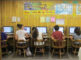 idaho youth work experience as digital literacy coaches and aberdeen area residents go online