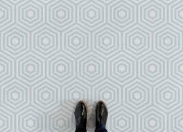 beehive hexagon pattern flooring green feet vinyl flooring