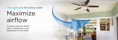 How To Select The Right Size For Every Room Classy What Size Ceiling Fan For Bedroom