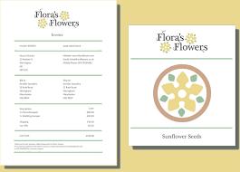 Florist Invoice Template Cash Invoice Template Occupyhistoryus ...