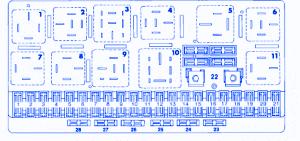 audi 4000 s 1987 central fuse box block circuit breaker diagram audi 4000 s 1987 central fuse box block circuit breaker diagram
