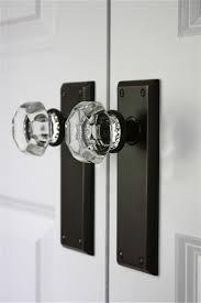 excellent black glass door knobs backyards glass door knobs crystal cut pair murano large