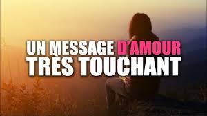 Un Message Damour Très Touchant