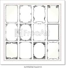 Frame For Word Decorative Frames Art Borders And Ornament Picture Frame