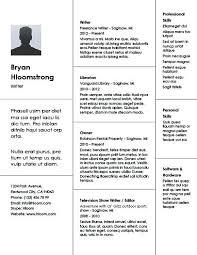 Different Resume Templates Creative Bricks Resume Template Resume