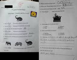 the story behind those creationism test papers melbourne skeptics click to embiggen