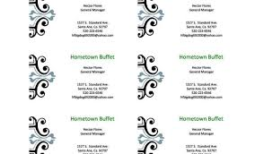 Editable Business Card Templates Free Perfect Furniture Business
