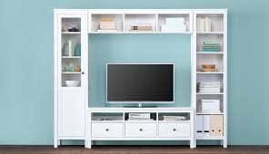 ikea livingroom furniture. This Combination Of A White Cabinet With Glass Doors, TV Bench, Wall Bridging Shelf Ikea Livingroom Furniture G