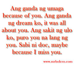 Funny Tagalog Quotes About Beauty Best of Sweet Tagalog Love Quotes