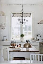 shabby chic lighting ideas. beautiful shabby shabby chic white kitchen with chandelier lighting fixture intended ideas u