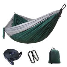 Shop Parachute cloth <b>outdoor double hammock</b> Online from Best ...