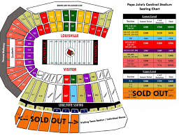 Uofl Football Stadium Seating Chart Texanmarks Tailgate Guides Louisville Tailgate And