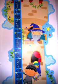 Growth Chart Boys Height Growth Chart Wall Stickers Wizard