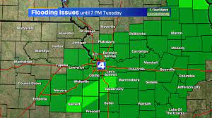 Kansas City under flash flood warnings