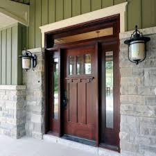 craftsman double front door. Entryway - Craftsman Entryway Idea In Toronto With A Dark Wood Front Door Double R
