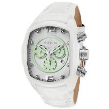 men s or women s invicta lupah watches men s invicta lupah watch white leather band and white green dial invicta 10284