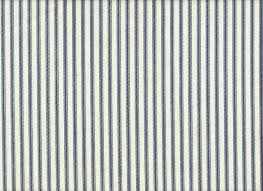 round tablecloth french country ticking stripe nautical blue cotton 72