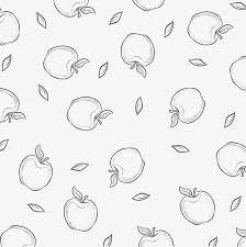 夏日水果小清新手绘线条花背景素材图片免费下载高清psd千库网图片编号
