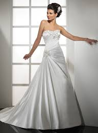 best hairstyles for strapless wedding dresses