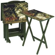 Decorative Tv Tray Tables Horse Heaven Tray Tables Western Home Style Pinterest Trays 4