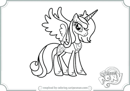 princess luna coloring pages my little pony princess celestia printable coloring pages