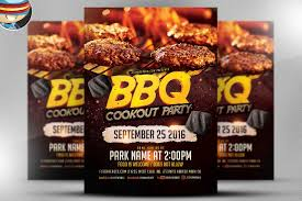 party flyer template photos graphics fonts themes templates bbq cookout party flyer template