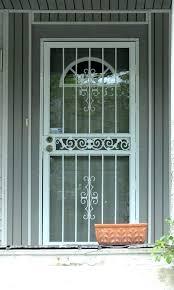 front door security screens storm door with mail slot mail slots for front doors front door