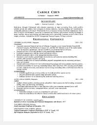 Resume Easy Senior Accountant Resume Sample With Profesional