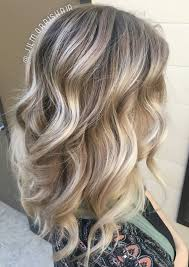 Beach Hair Cool Ashy Blonde Balayage