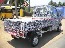 new car launches of mahindraMahindras Upcoming NextGen Maxximo P601 Mini Truck Spy Pics