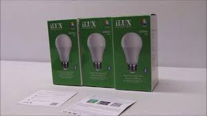 Light Bulb Youtube Lightingever Ilux Led Smart Bluetooth Light Bulb Review