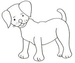 Disegni Di Cani Da Colorare Immagini Di Cane Per Bambini Da Con