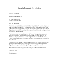 Sample Proposal Cover Letter Scrumps