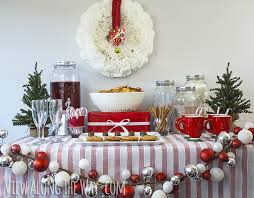 Decorating Ideas > Christmas Party Food Table Decorations Images ~  003049_Christmas Decorating Ideas For Party Table