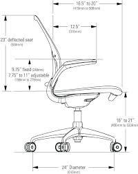 standard office chair height cm um size of desk desk chair size office seat height surprising