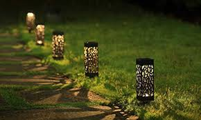 maggift solar powered garden lights