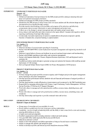 Portfolio Manager Resume Sample Project Portfolio Manager Resume Samples Velvet Jobs 5