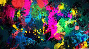Colorful Paint Wallpapers - Top Free ...