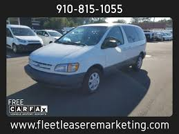 1999 Used Toyota Sienna CE at Fleet Lease Remarketing Serving ...