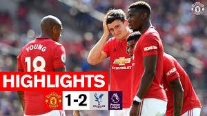 Highlights | United 1-2 Crystal Palace
