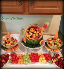 How To Decorate Salad Tray Brilliant Decoration Baby Shower Fruit Tray Wonderful Ideas Carriage 76