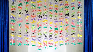 amazing craft ideas with paper diy simple home decor using paper paper craft wall hanging