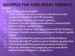 oedipus the king essay format ppt oedipus the king essay format