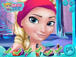 frozen games princess elsa and anna makeup design mugeek vidalondon