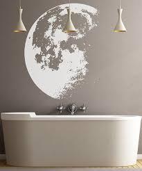 moon wall art sticker