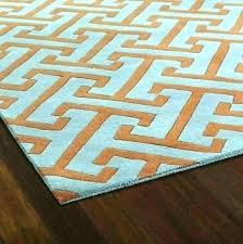 burnt orange and teal area rug turquoise